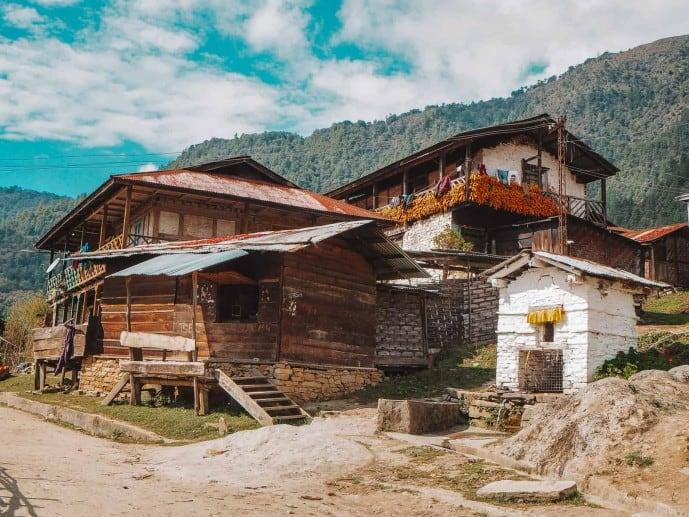 Monpa House Arunachal Pradesh
