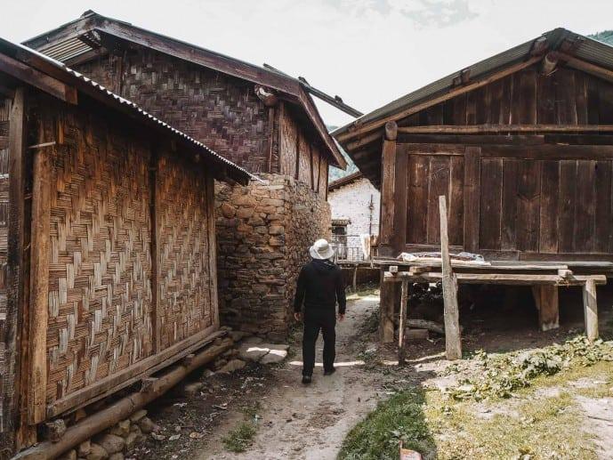 Arunachal Pradesh traditional houses
