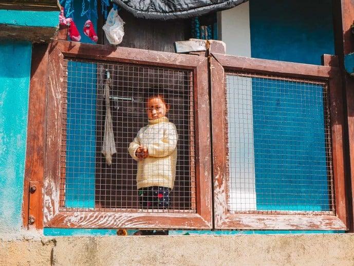 Namsu village arunachal pradesh child