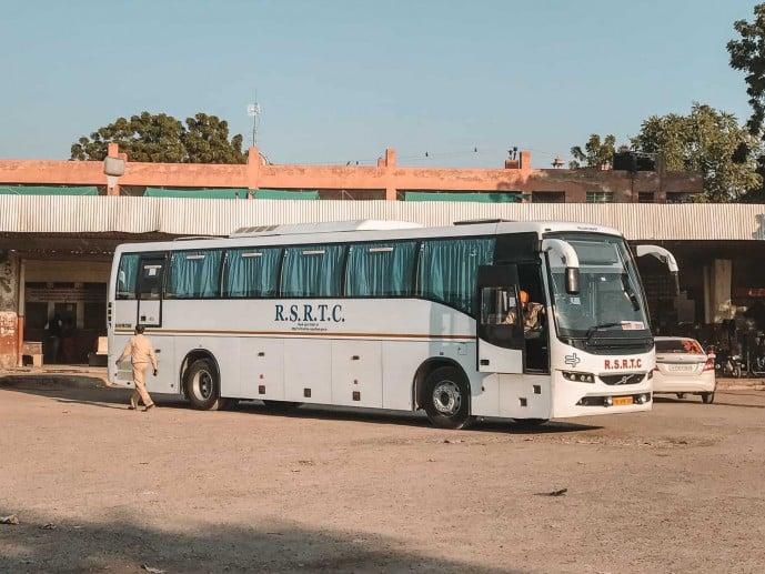 RSCTC Bus to Bikaner Direct Bus to Bikaner from Jaipur