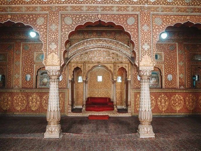 Chandra mahal Junargarh Fort Bikaner