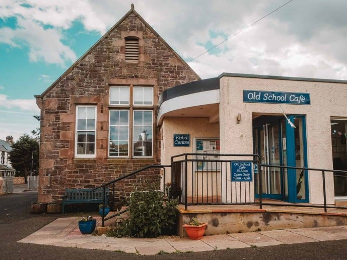 The Old School Cafe Ebba centre st abbs
