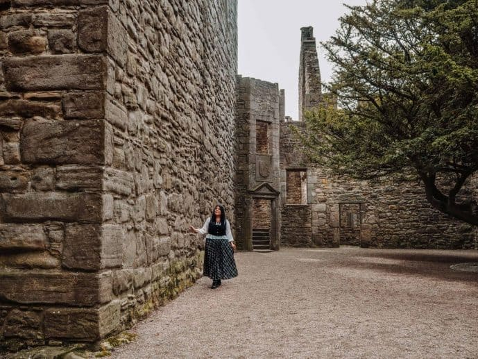 Craigmillar Castle Outlander location