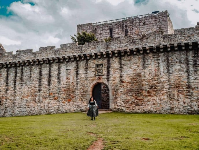 Craigmillar Castle Outlander Ardsmuir Prison