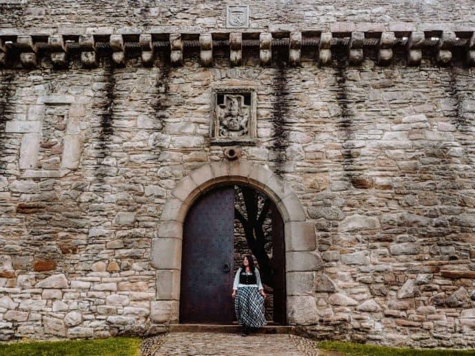 Craigmillar Castle Door