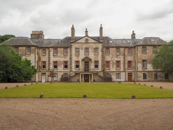 Newhailes House Outlander location
