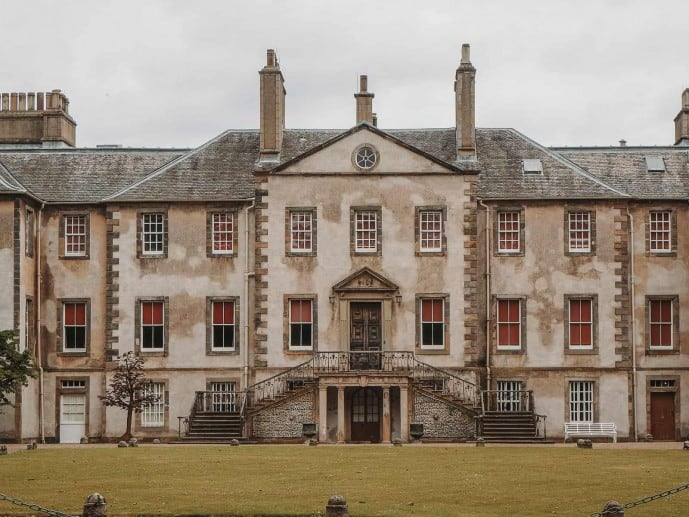 Newhailes House Outlander location Governor Tyron