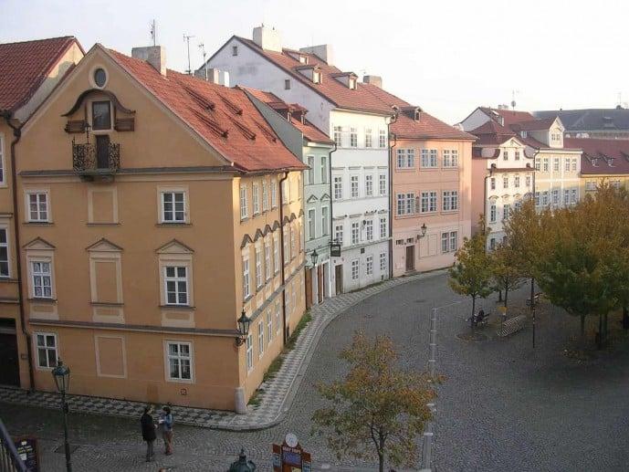 Na Kampe Outlander Prague locations