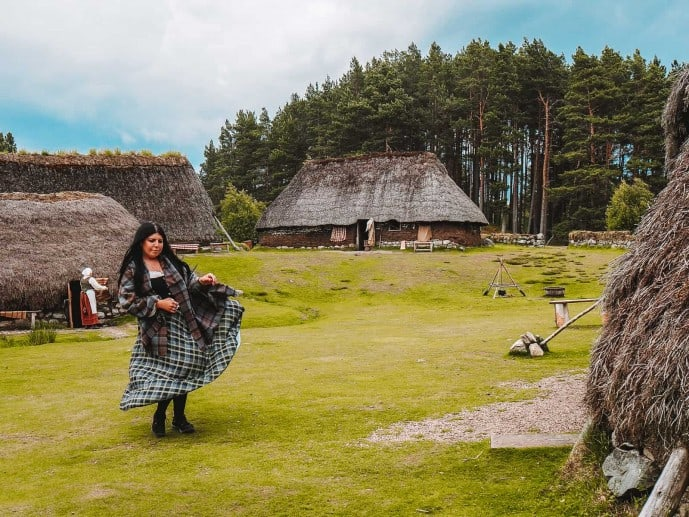 Highland Folk Museum Outlander scenes