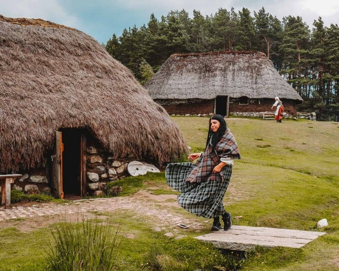 Highland Folk Museum Outlander film location township