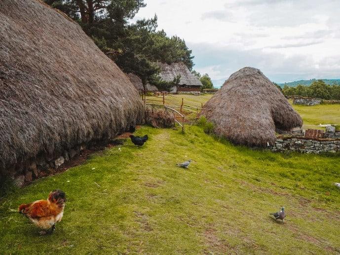 Highland Folk Museum Township