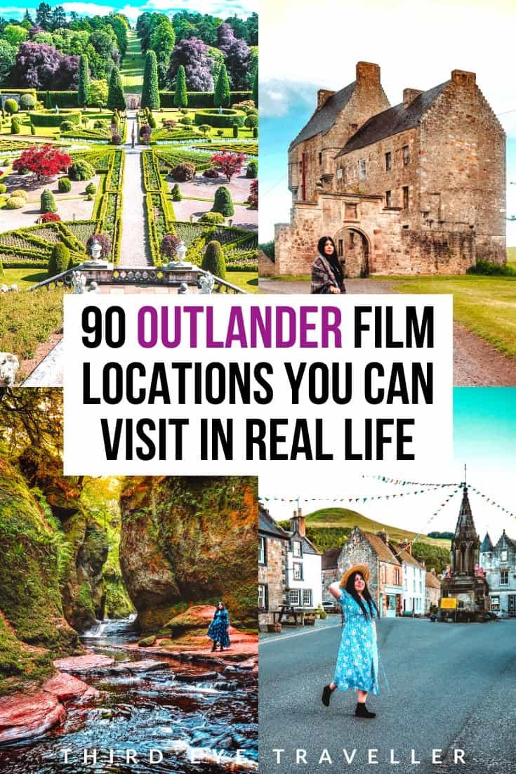 where is Outlander filmed? Outlander film locations