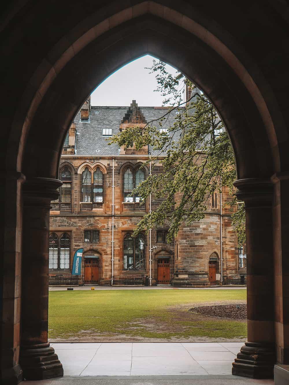 University of Glasgow campus