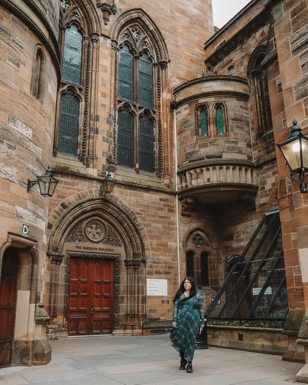 The University of Glasgow Outlander location