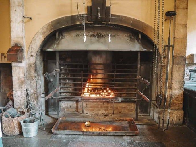 The fire at Callendar House kitchen