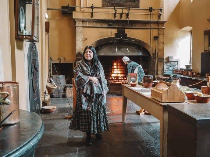 Callendar House Outlander kitchens