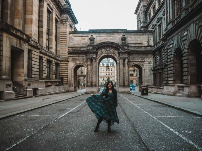 George Square Outlander Glasgow City Chambers