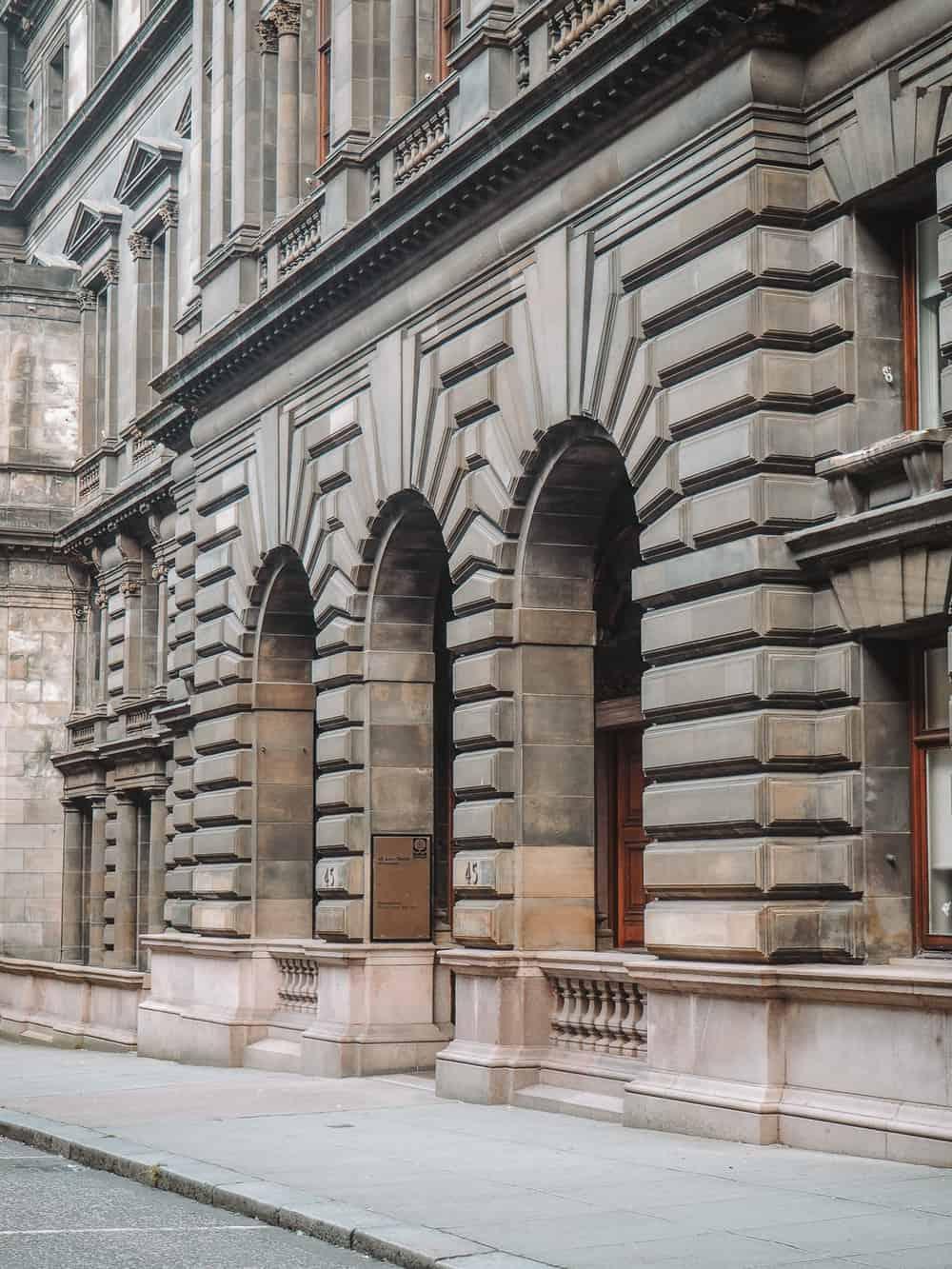 George Square Outlander Glasgow