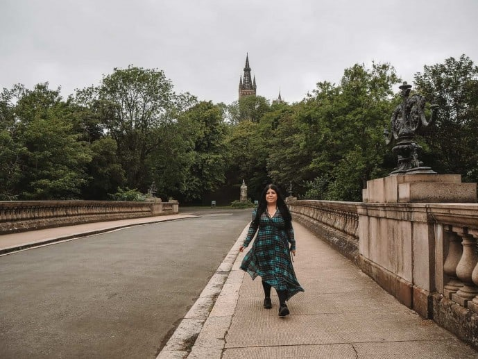 Kelvingrove Park Outlander location, Glasgow