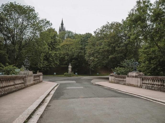 Kelvingrove Park Outlander location in Glasgow