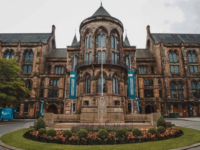 University of Glasgow entrance