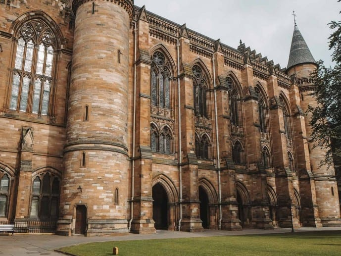 University of Glasgow Outlander location
