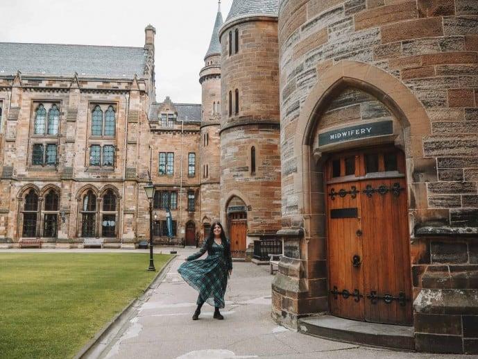 University of Glasgow classrooms