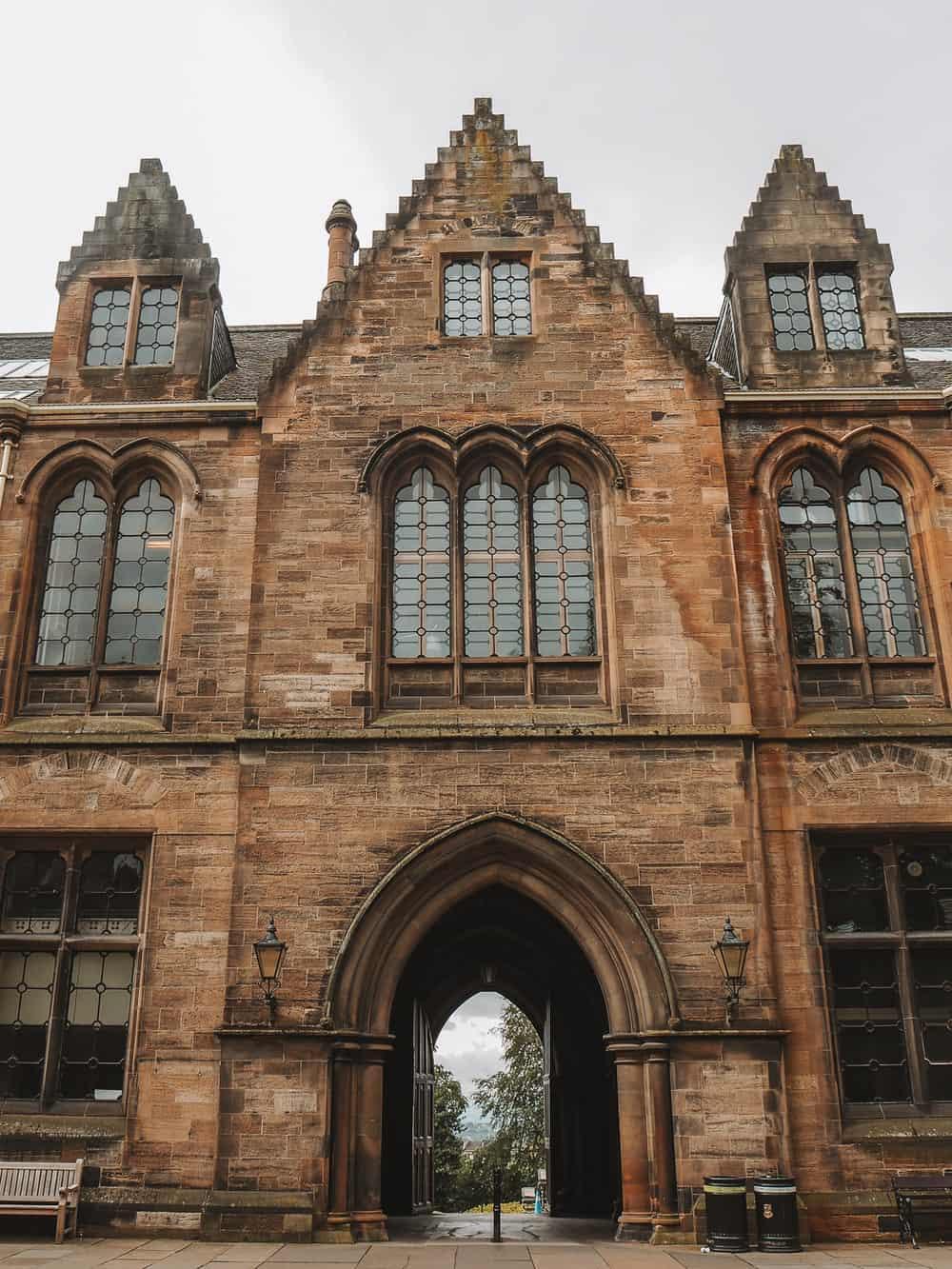 University of Glasgow Outlander locations