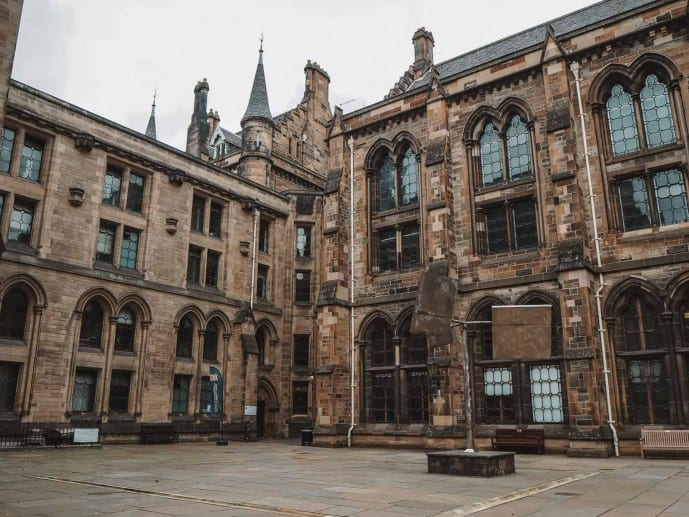 things to do at the University of Glasgow