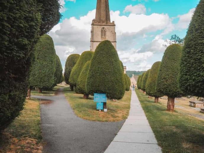 St Marys Church Garden Painswick