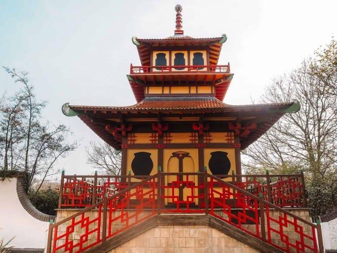 Peasholm Park Pagoda