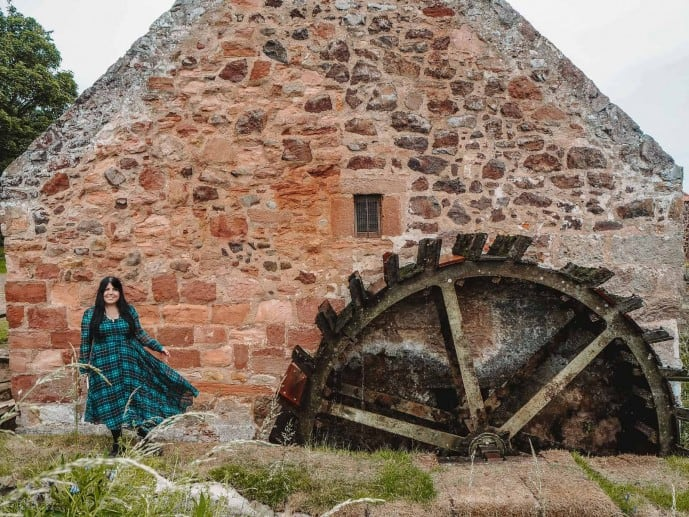 Preston Mill Outlander location Lallybroch Mill