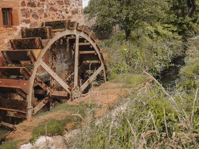 Preston Mill Waterwheel