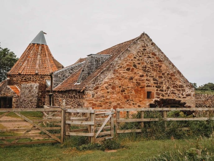 Preston Mill and Phantassie Doocot is just 20 miles from Edinburgh