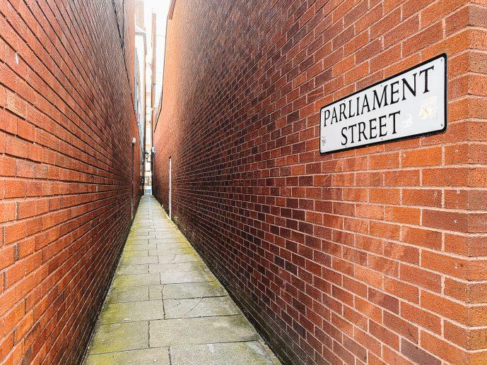 Parliament Street Exeter