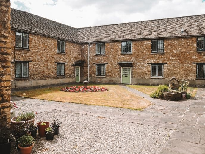 Perry and Dawes Almshouses Wotton Under Edge Cotswolds