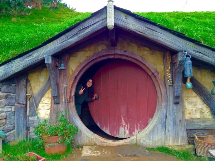 Photos of Hobbiton Movie Set New Zealand