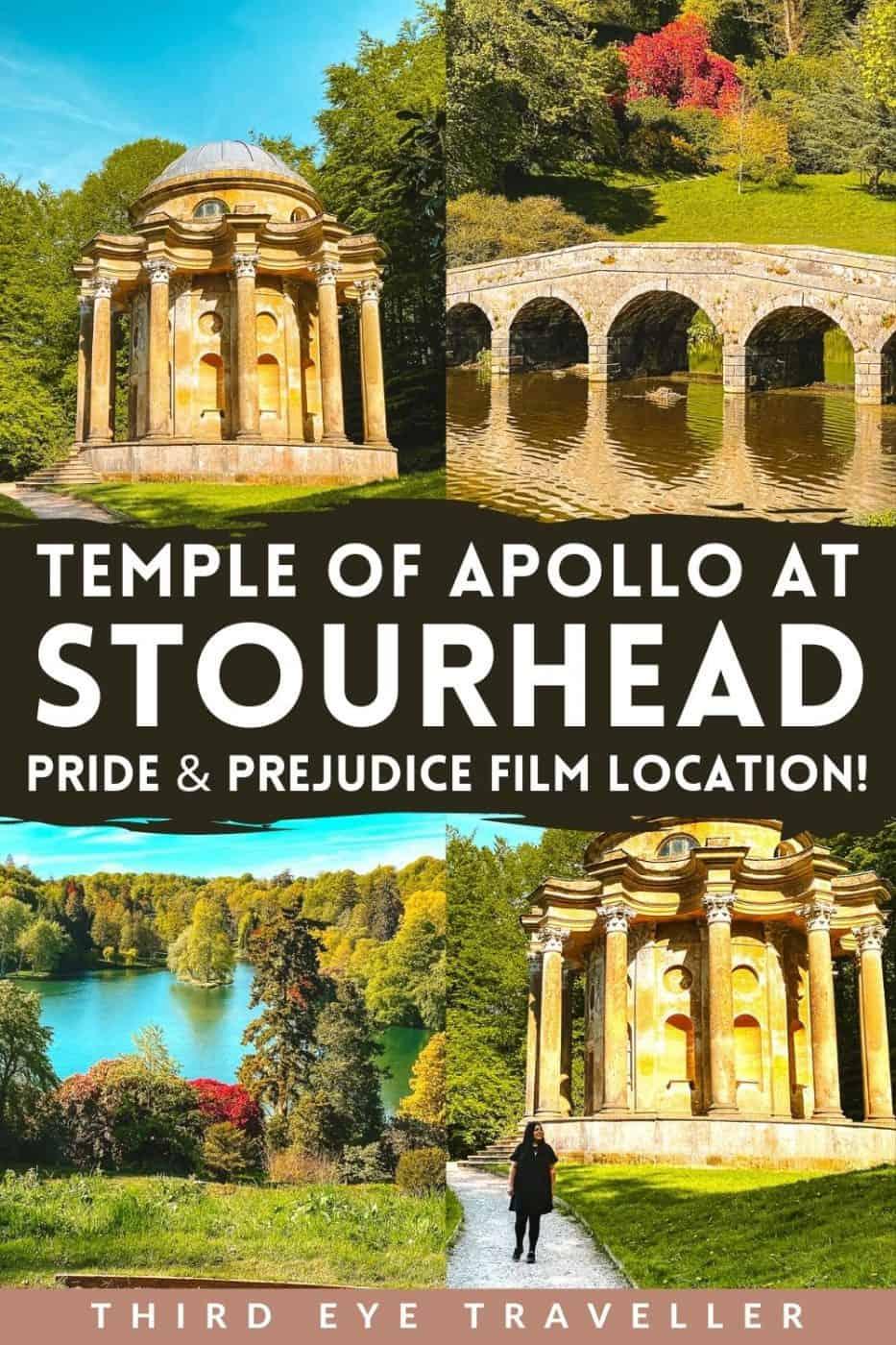 Temple of Apollo Stourhead Pride and Prejudice Film Location