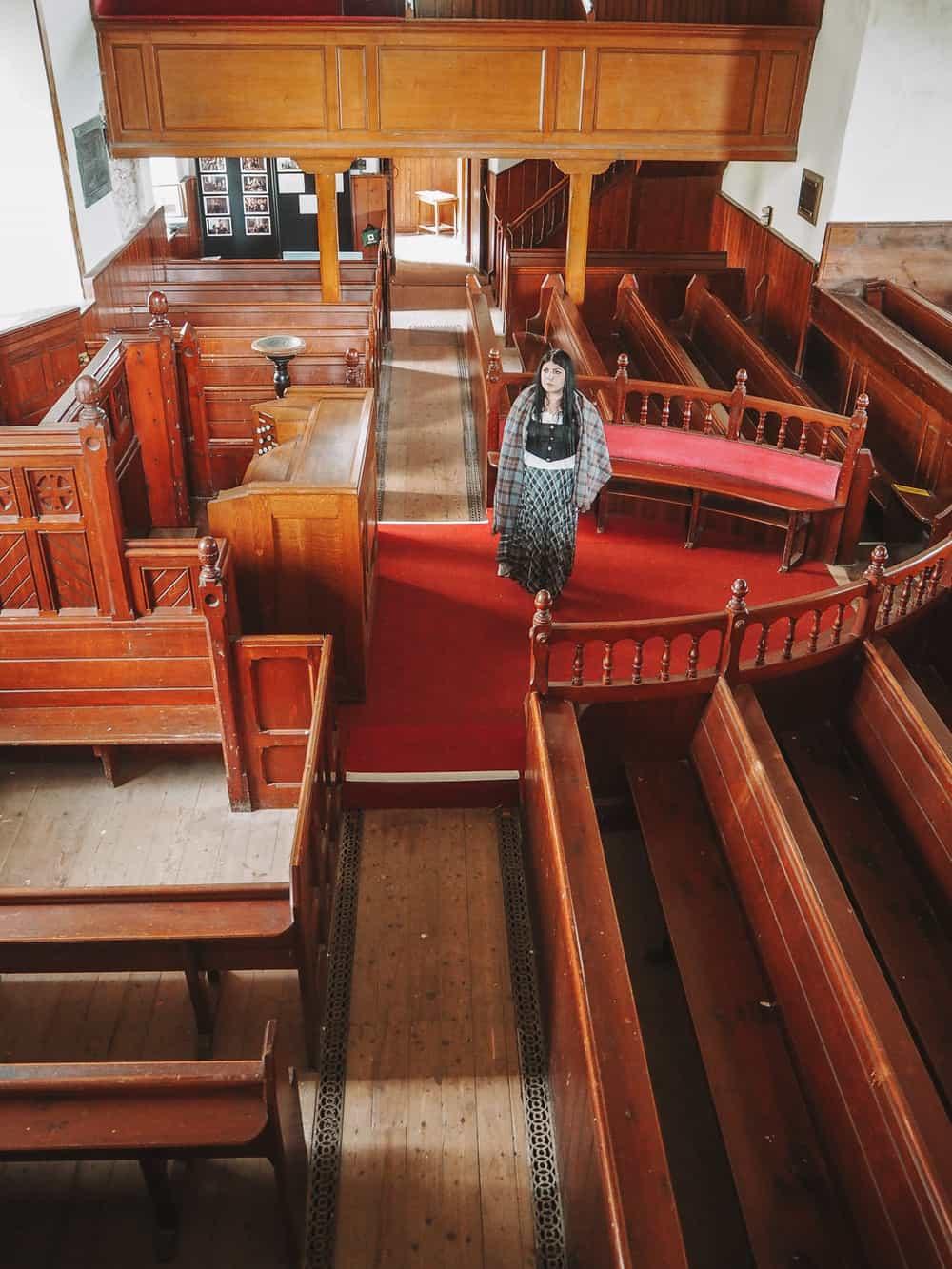 tibbermore church outlander location