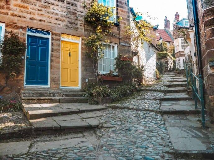 Robin Hoods Bay street