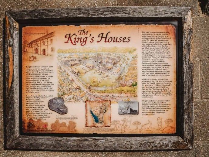 King's House's sign