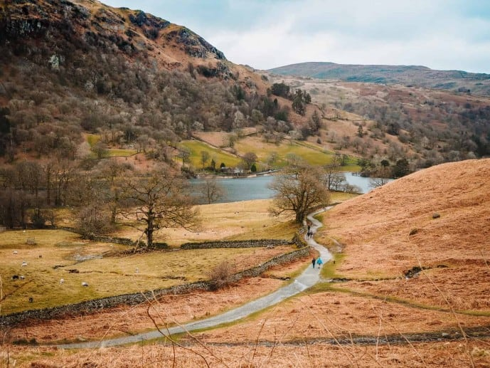 Rydal Water walking routes