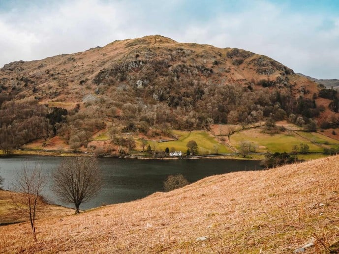 Nab Cottage from Rydal Cave