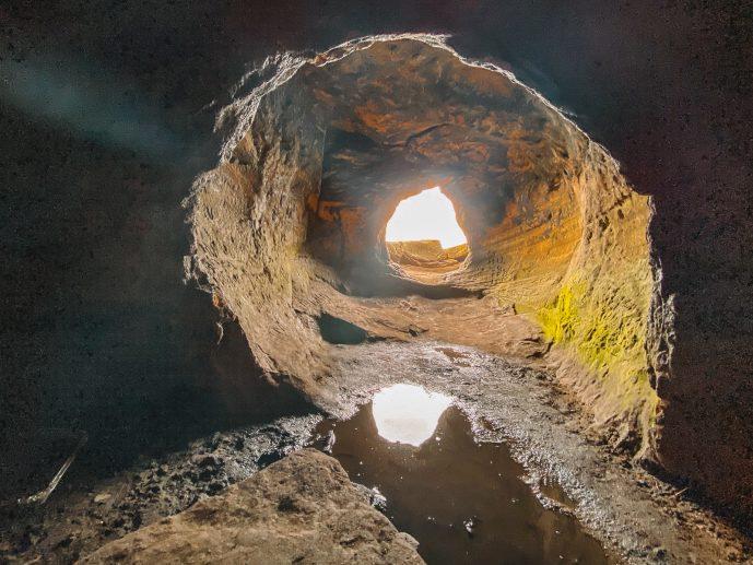 Robin Hood Cave Entrance