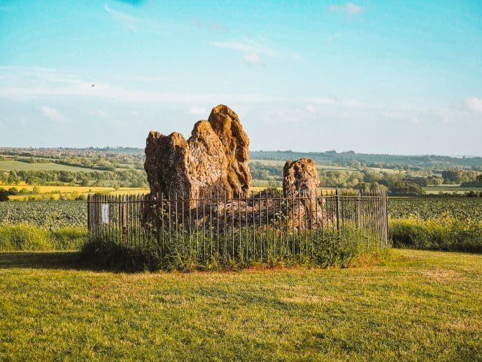The Whispering Knights Rollright Stones