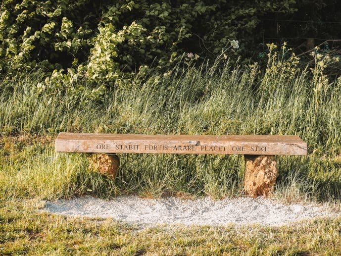 Rollright Stones bench