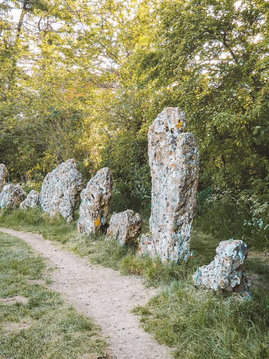 Rollright Stones Tolkien connection Barrow Wights