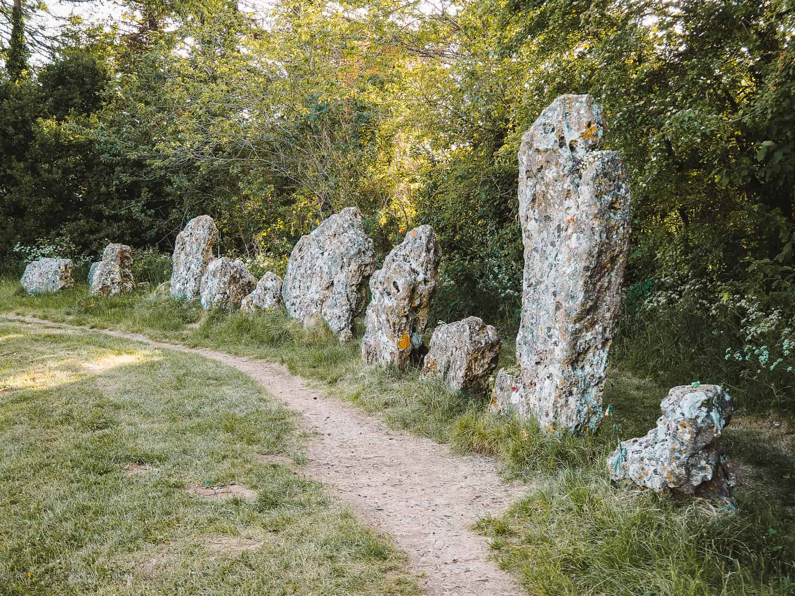 Rollright Stones Cotswolds