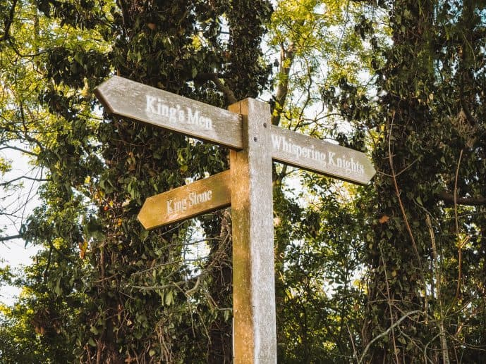 Rollright Stones sign