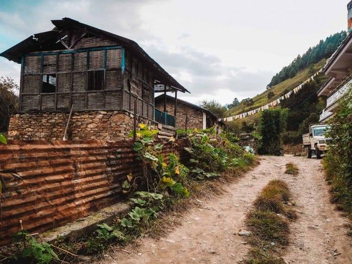 Dirang to Sangti Valley